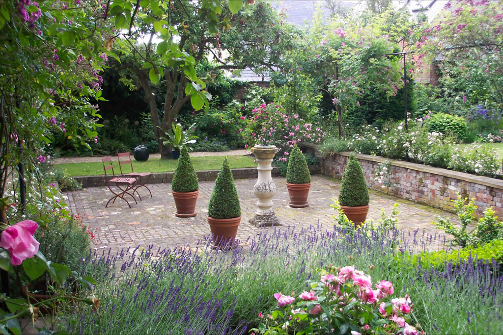 One of the gardens at the Hidden Gardens of Bury St Edmunds