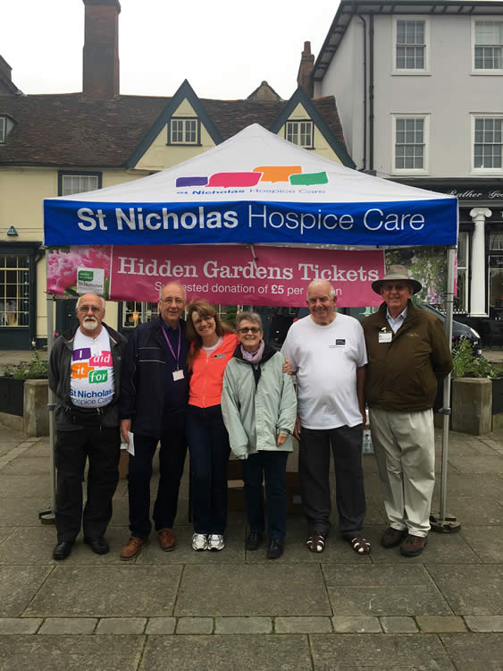 Hidden Gardens of Bury St Edmunds selling tickets